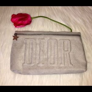 "NWOT Dior Cosmetic Bag,Size approx-11""x 6.5"""